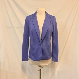 212 Collection Periwinkle One Button Blazer Size 4